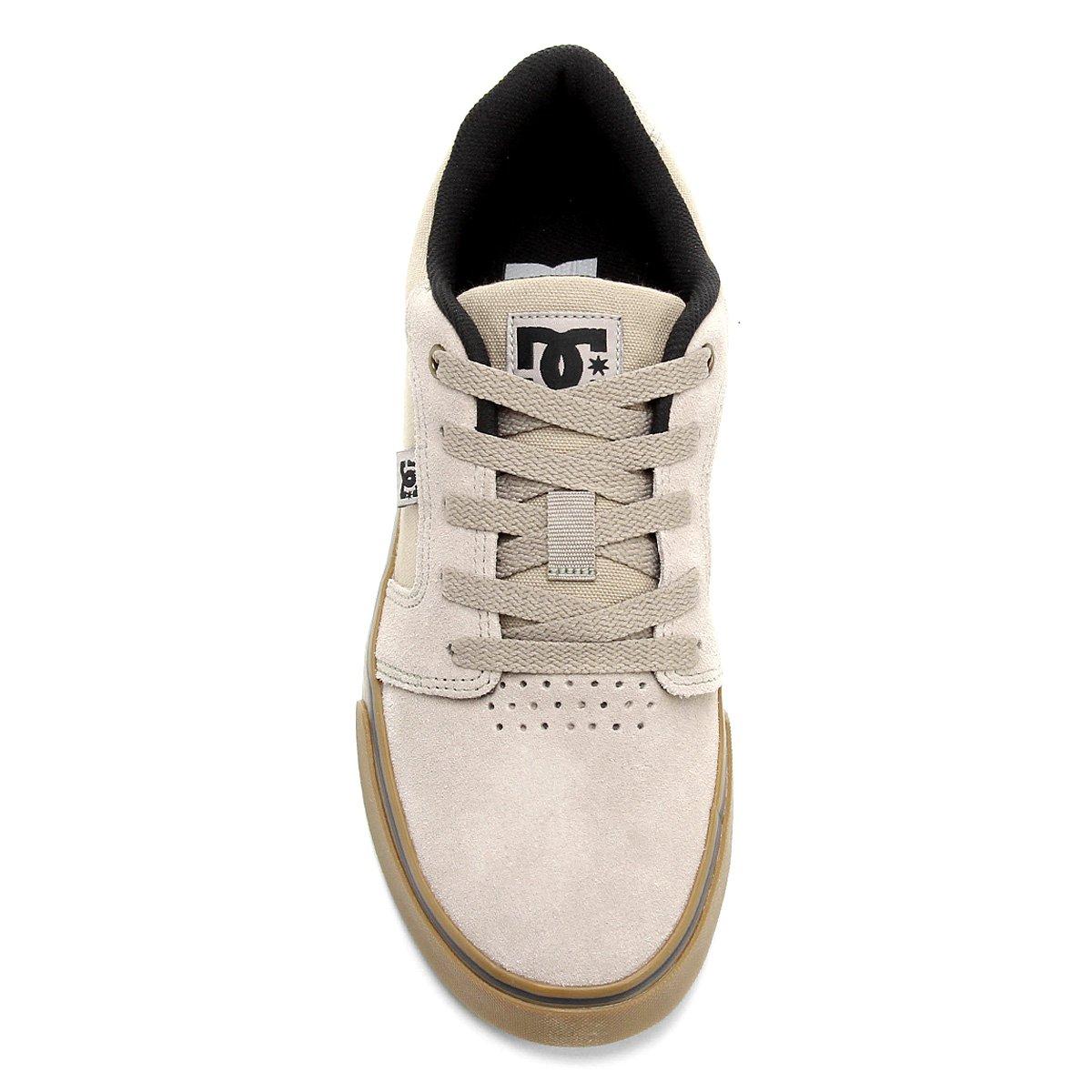 Tênis DC Shoes Anvil La Masculino - Creme - Compre Agora  15c5a5751326b