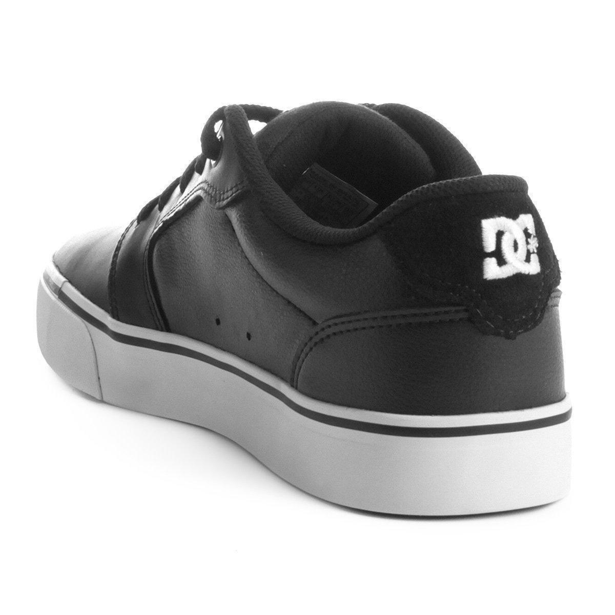 Tênis Dc Shoes Anvil Le La Masculino - Preto e Branco - Compre Agora ... fd3b9a11ebc13