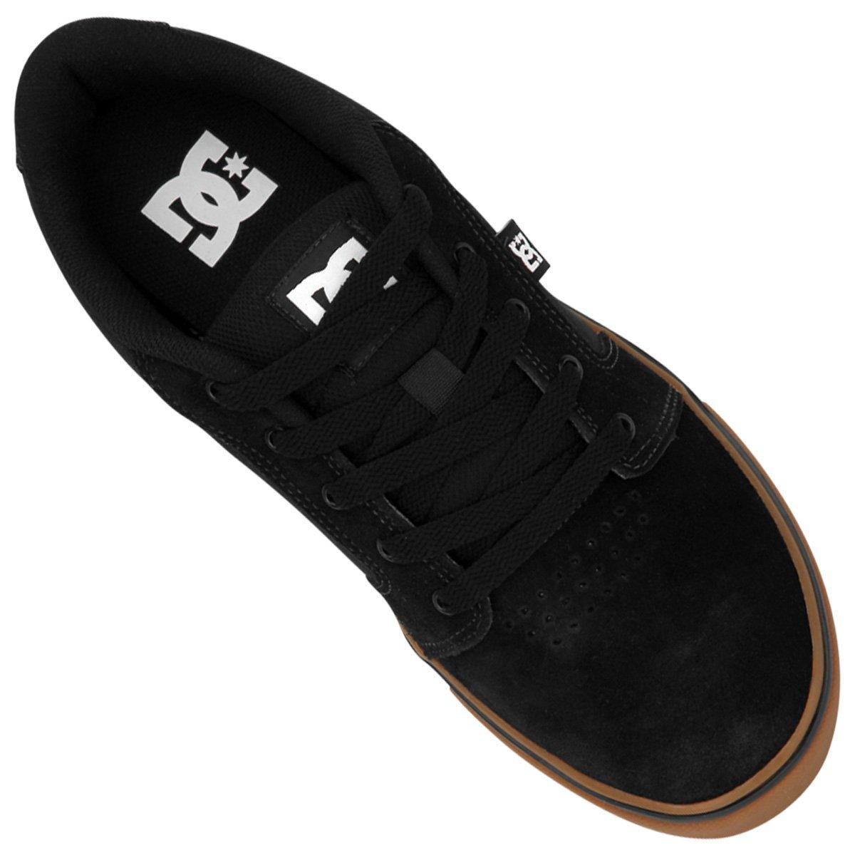 Tênis Dc Shoes Anvil Preto E Marrom Netshoes ef9e9338e5c1c