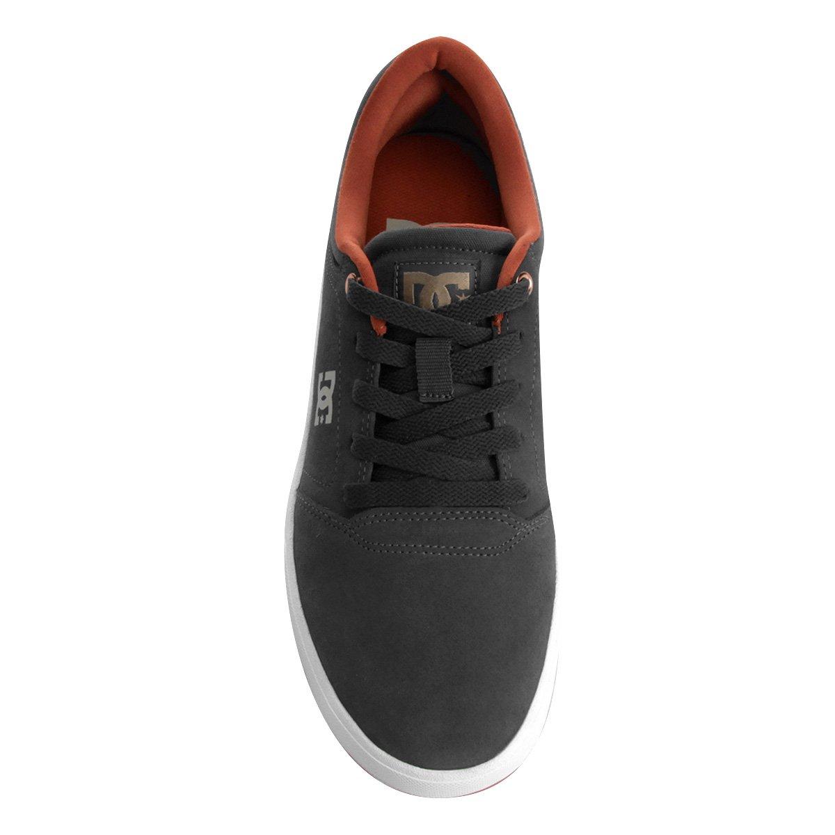 Tênis Dc Shoes Crisis LA Masculino - Cinza e Branco - Compre Agora ... 87eb6e582b737