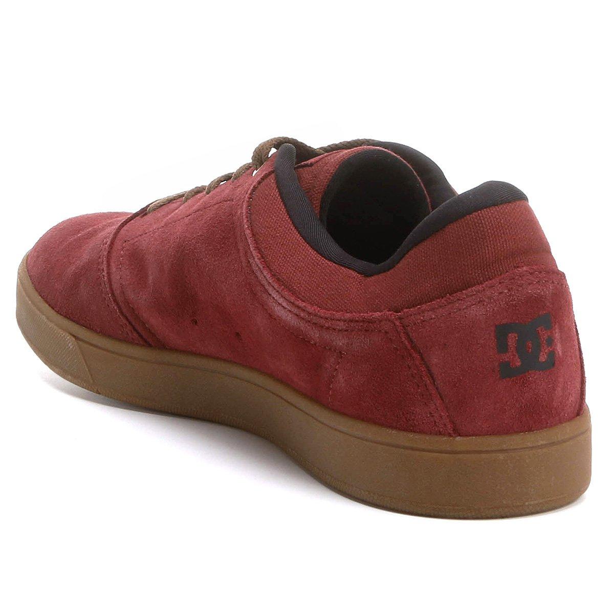 Tênis Dc Shoes Crisis LA Masculino - Bordô - Compre Agora  4033011673f1a