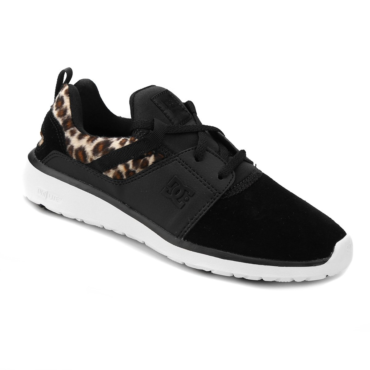 DC Shoes Tênis Preto DC Feminino Tênis Heathrow qHPxEW6wt