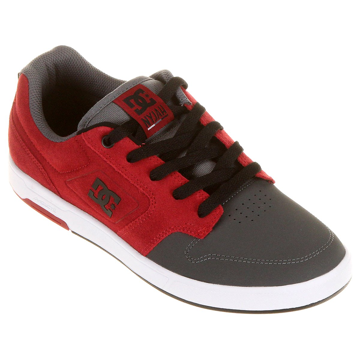 5927dd7625 Tênis DC Shoes Nyjah Se Shoe Gre - Compre Agora