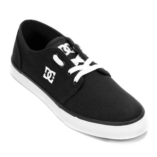 Tênis DC Shoes Studio Tx La Masculino - Preto+Branco