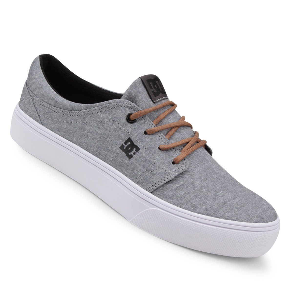 6a636def5a Tênis DC Shoes Trase Tx Se Masculino - Cinza - Compre Agora
