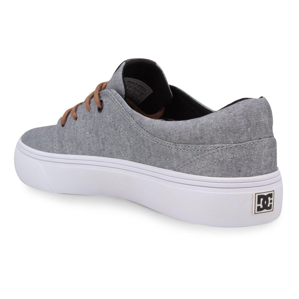 Tênis DC Shoes Trase Tx Se Masculino - Cinza - Compre Agora  56a1ac1125a0e