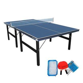 Tênis De Mesa Oficial Ping Pong MDF 15mm Luxo + Kit Vigor Procópio