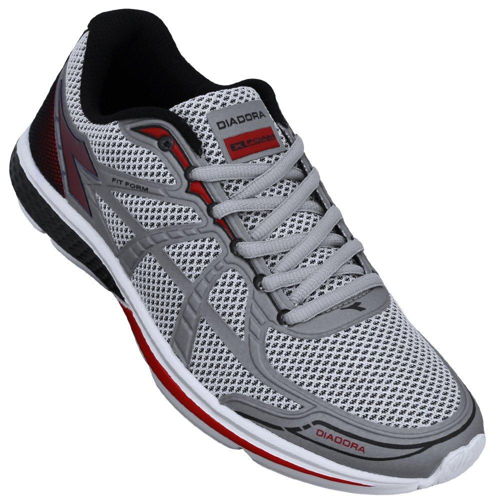 e Cinza Tênis Tênis Diadora Vermelho Form FIT Diadora wqY6BxqT