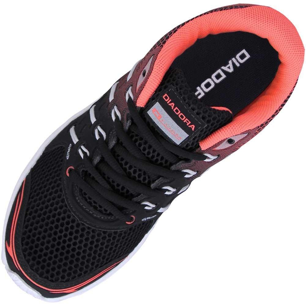 Tênis Preto Rosa e Grid Tênis Diadora Diadora CIYxwq1w5