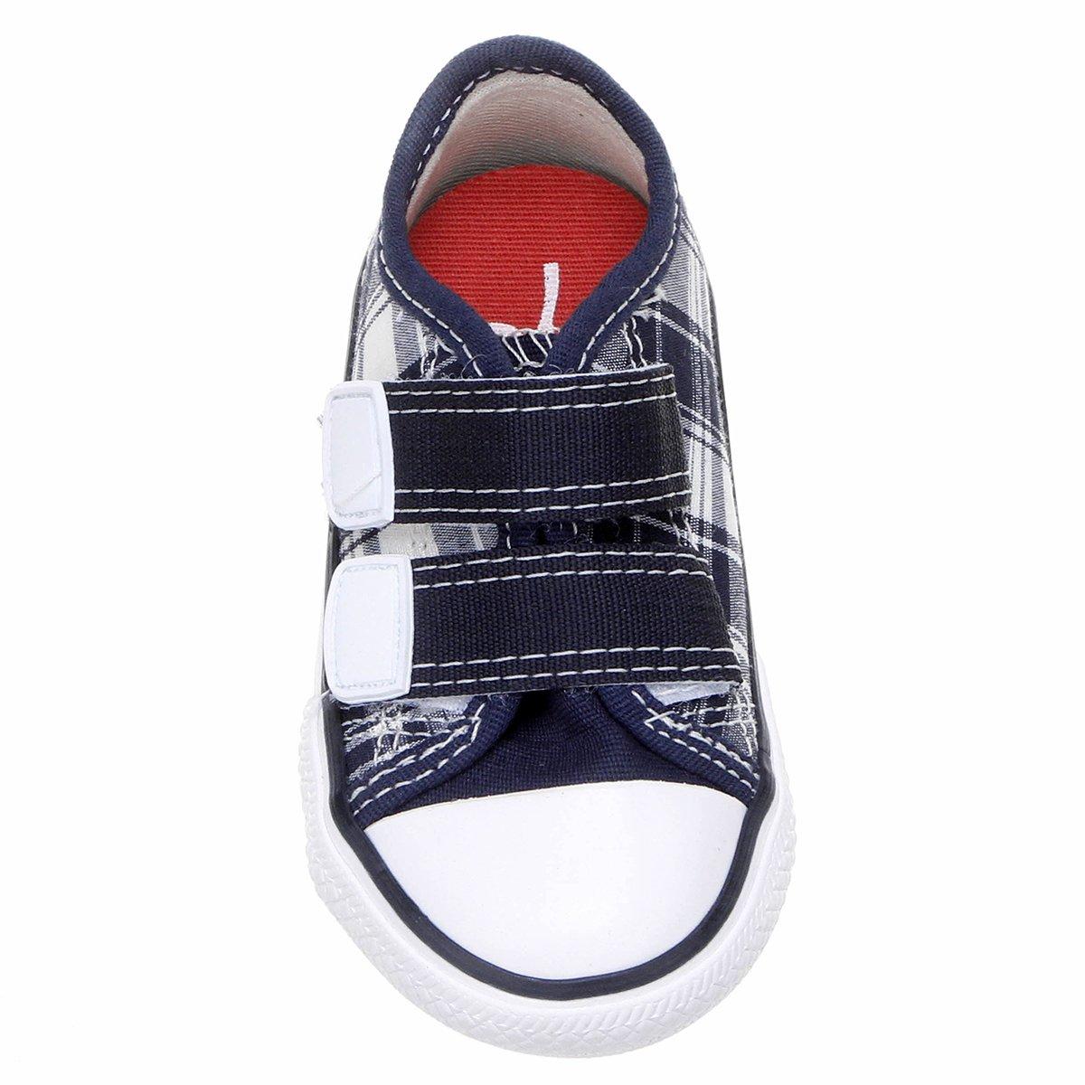 28cbcde0b1c Tênis Diversão Velcro Baby Game Xadrez - Compre Agora