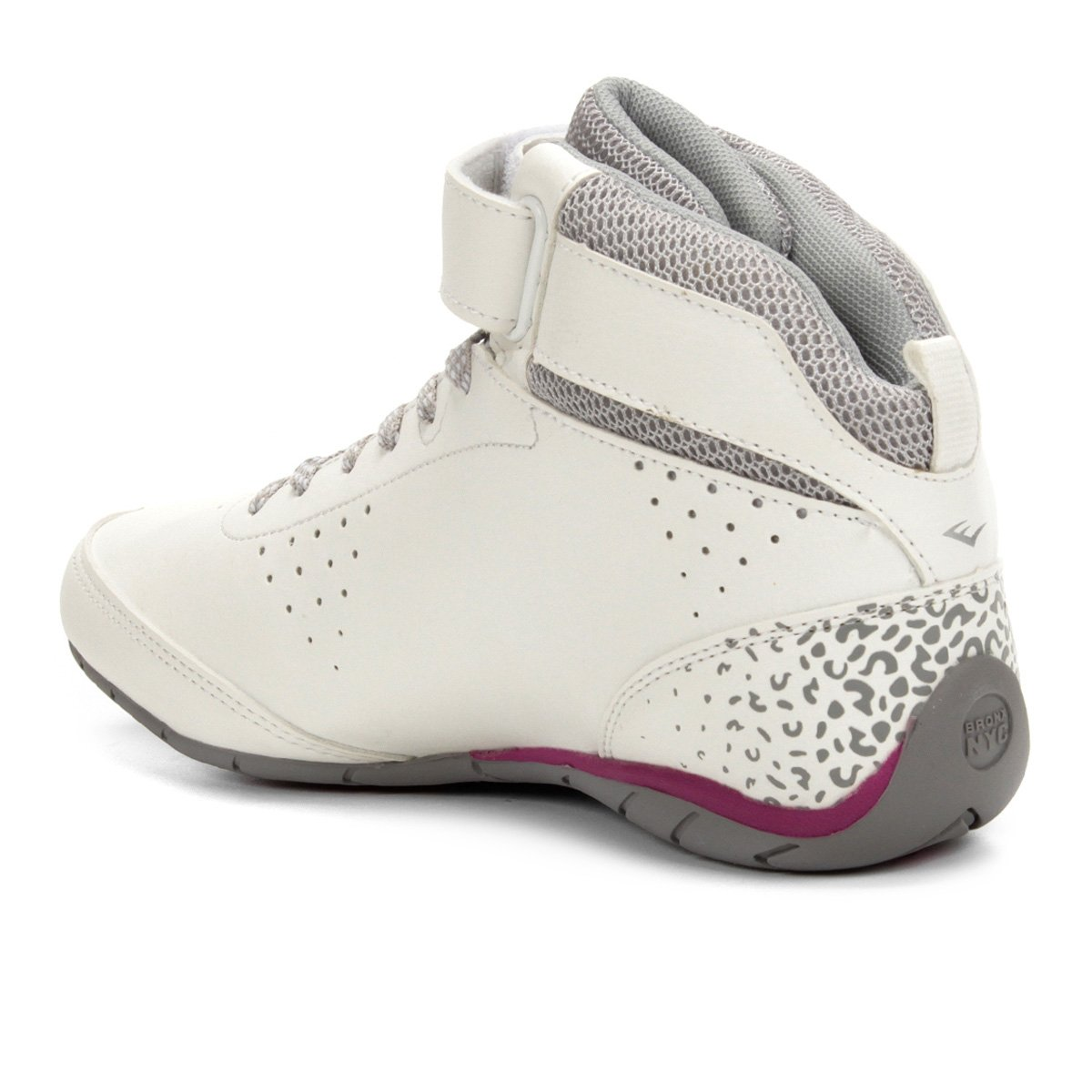 Tênis Everlast Jump III Feminino - Branco e Roxo - Compre Agora ... a0a11c080f56e