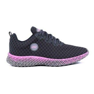 Tenis Feminino Ascension Ghost 2 - Grafite E Pink