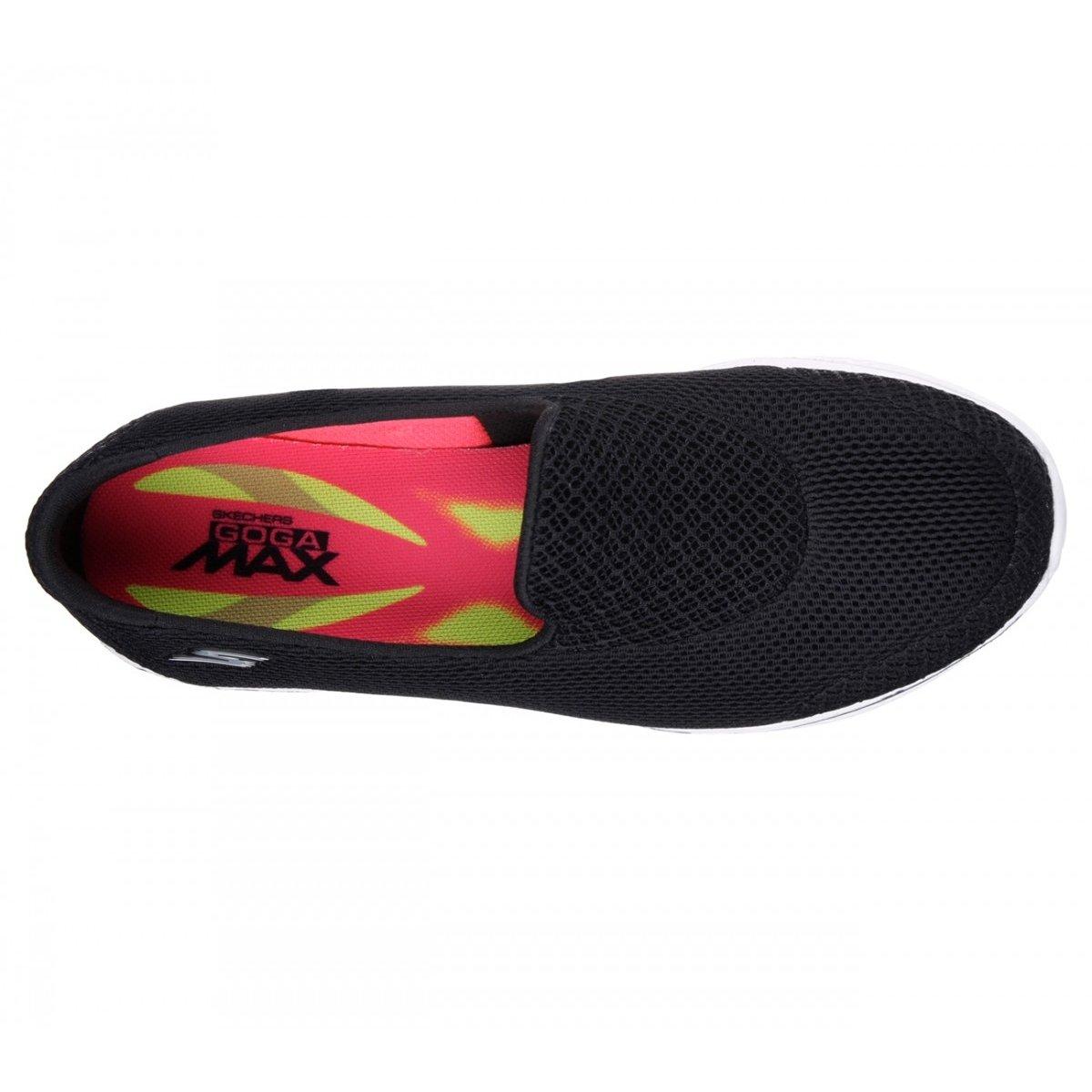 Feminino Skechers Tênis Preto 14170 Walk Go Propel Tênis Feminino 4 qwtCfxEw