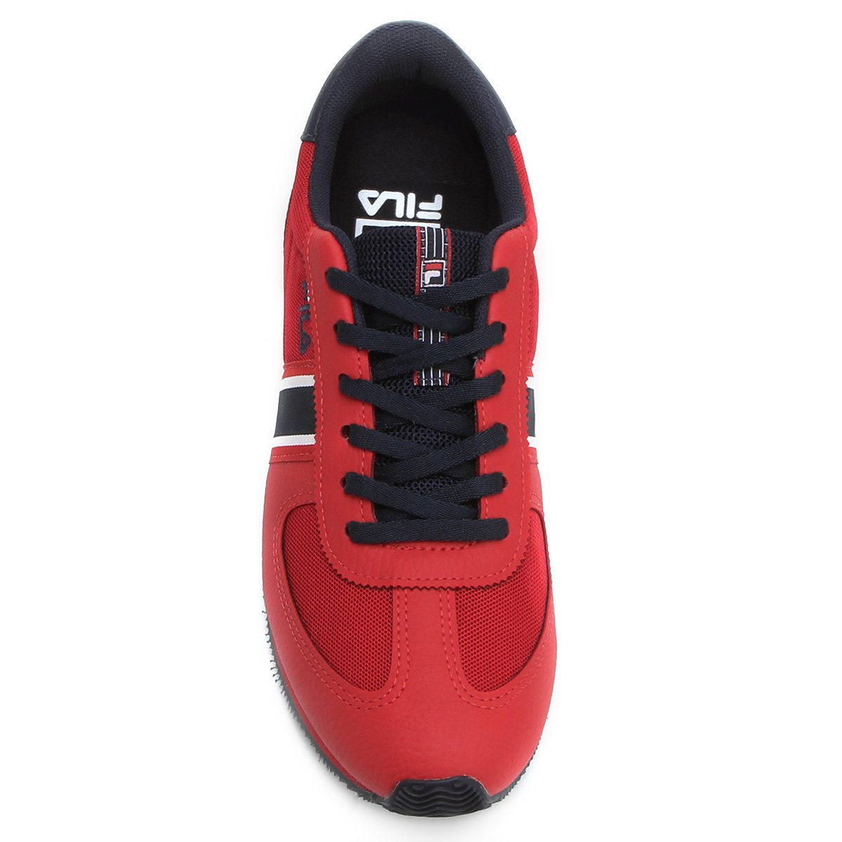 Marinho Tênis Fila Fila F Sport e Vermelho Retrô Tênis PPr8dqxv