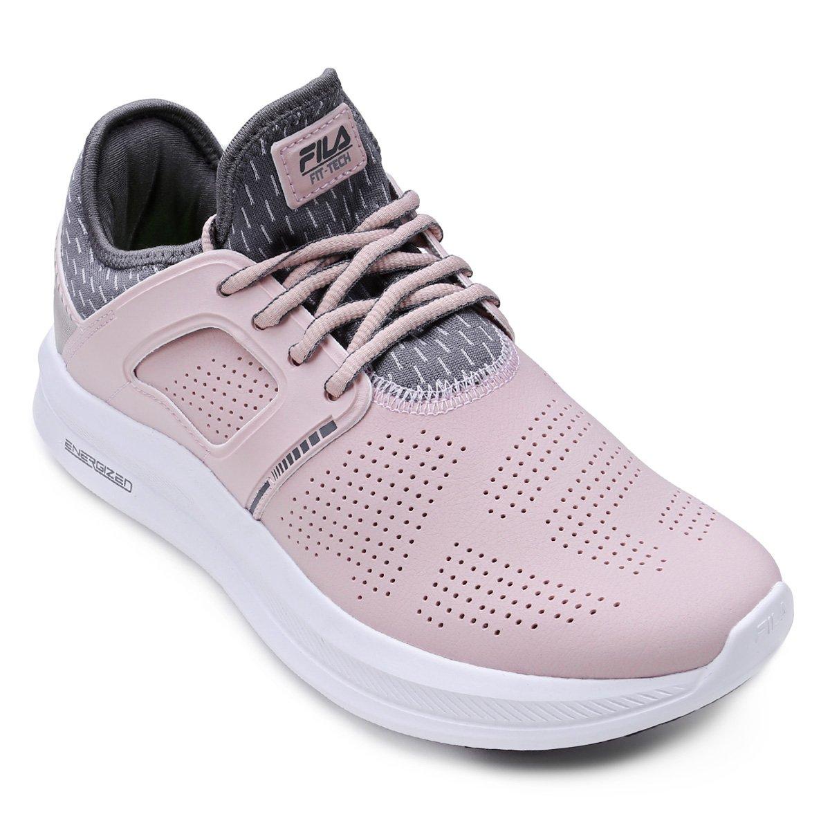 c321035e475 Tênis fila fit tech feminino rosa e cinza compre agora netshoes jpg  1200x1200 Tenis fila 2018
