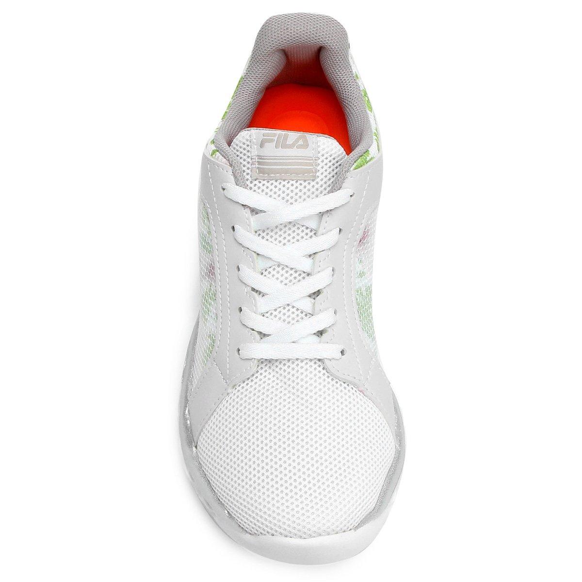 1752b616621 Feminino Comfort 2 Lightstep Branco 0 Tênis prata Fila e qSEZX for ...