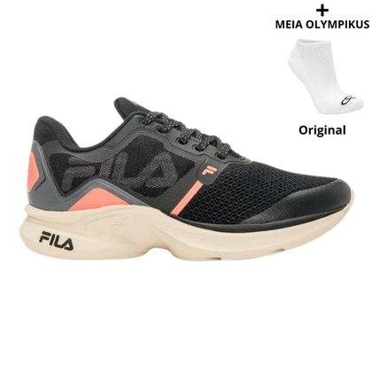 Tênis Fila Racer Move Feminino + Meias Olympikus Originais