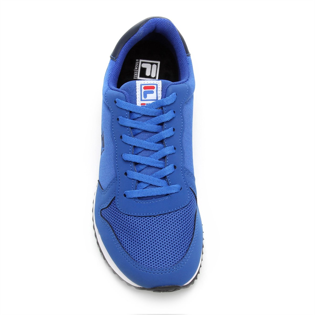 Runner Azul Tênis Retrô Fila e Masculino Tênis Marinho Fila AAYIW