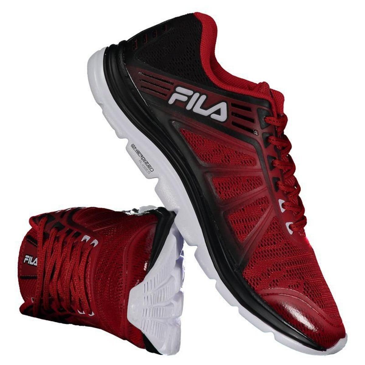 bcbbe28f35 Tênis Fila Spirit 2.0 Masculino - Vermelho - Compre Agora