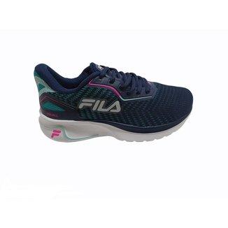 Tênis Fila Squall Feminino Running Super Leve Original