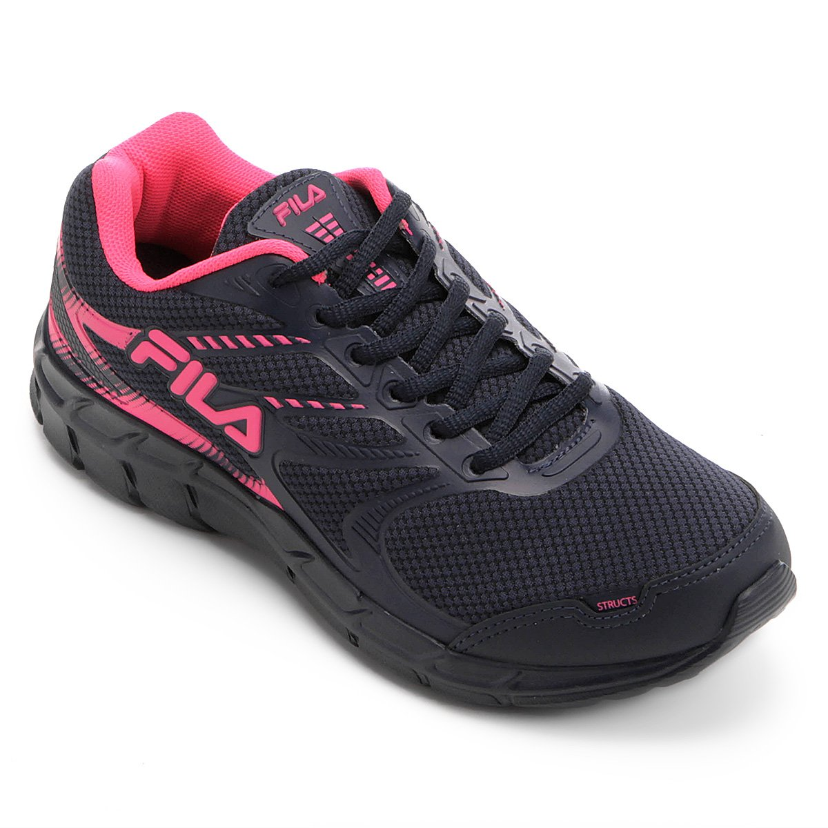 e Fila Tênis Feminino Pink Structs Tênis Fila Marinho vZYBwggq