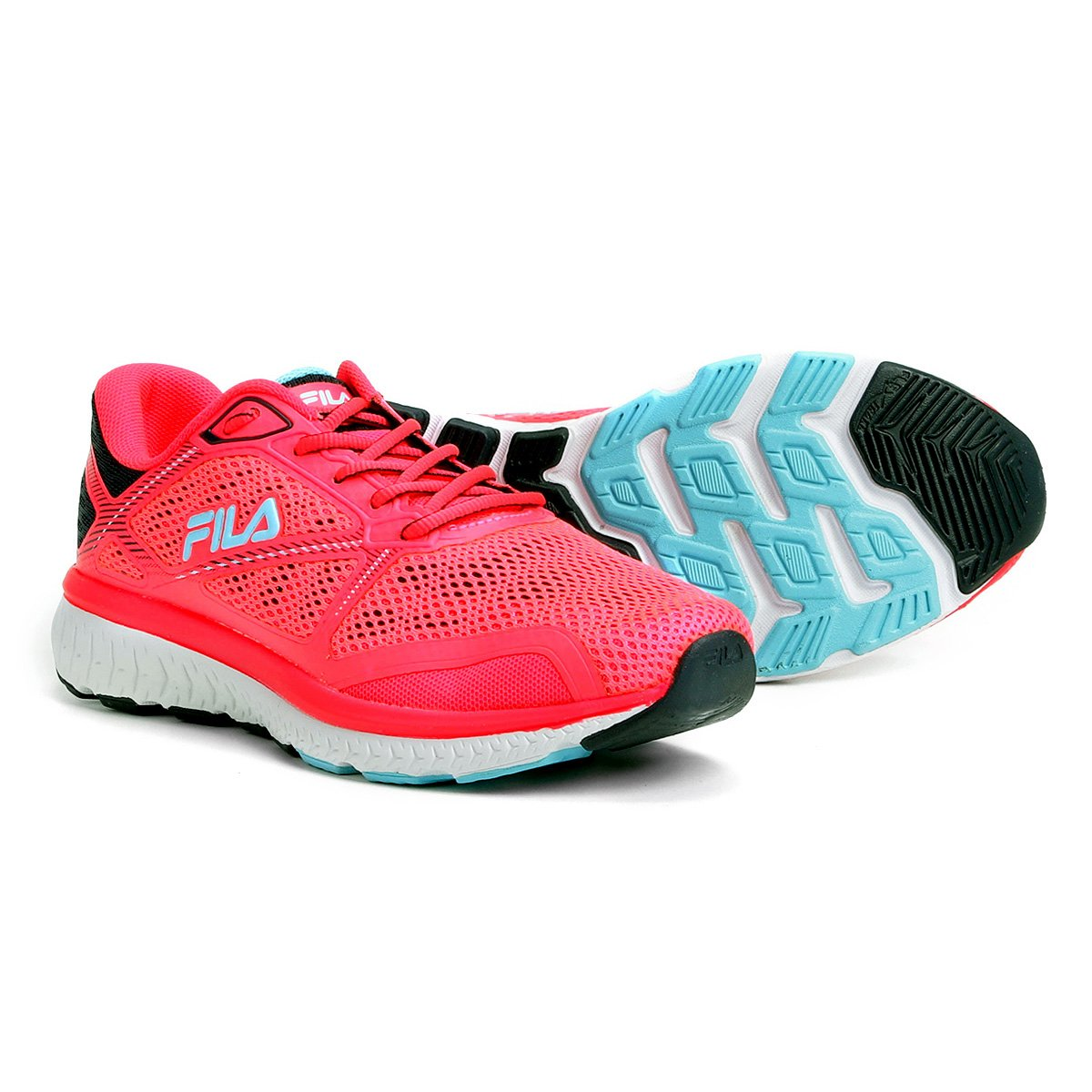 Tênis Feminino Tênis e Rosa Azul Thunder Fila Fila PpxHHq51