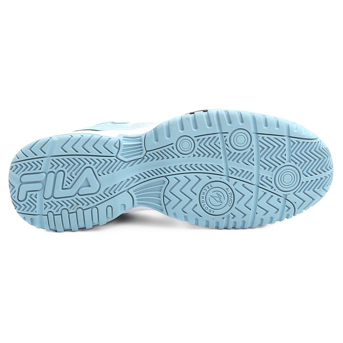 Tênis Tênis Top Fila Branco Azul Spin Top 2 Fila 2 e Spin 0 twxTFIOqq6