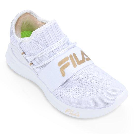 Tênis Fila Trend 2.0 Feminino - Branco+dourado