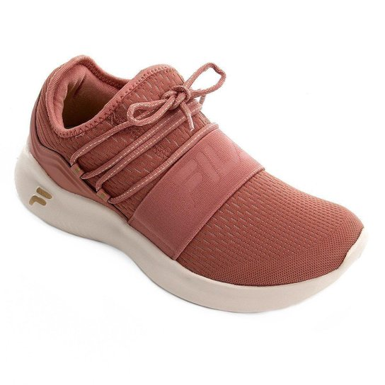 Tênis Fila Trend Feminino - Rosa+Branco