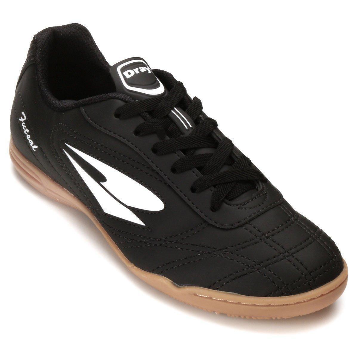 Tênis Tênis 802 Futsal Dray 802 CO Preto Branco Dray Futsal CO e 6qwnAgH