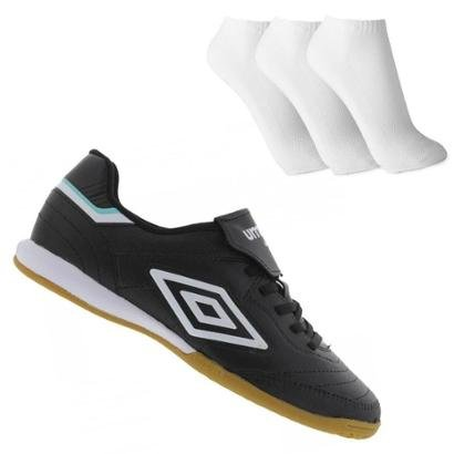 Tenis Indoor Umbro Speciali Iii Club + 3 Pares De Meia