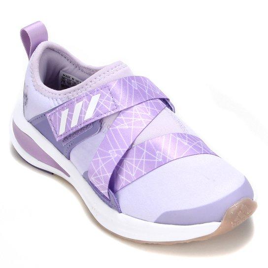 Tênis Infantil Adidas Fortarun X Frozen C - Roxo