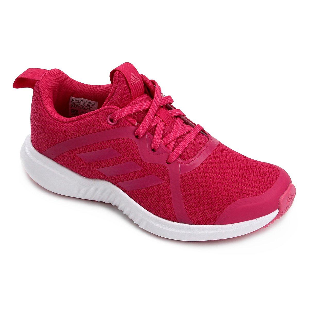b49d1f898f8 Tênis Infantil Adidas Fortarun X K - Pink - Compre Agora