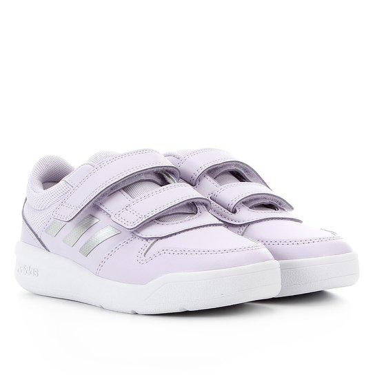 Tênis Infantil Adidas Tensaurus - Roxo+Cinza