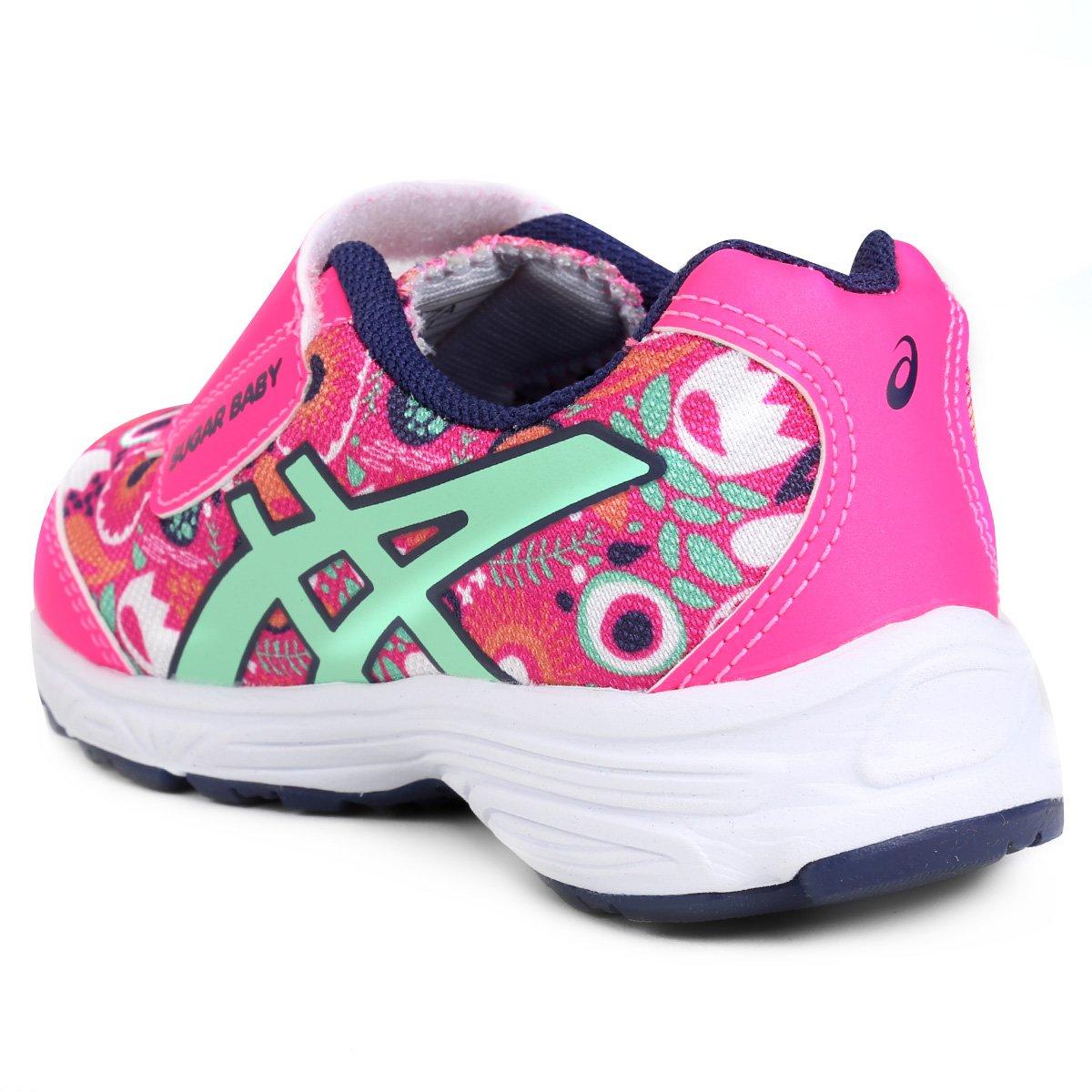 Tênis Infantil Asics Sugar Baby 2 Ts - Pink e Marinho - Compre Agora ... 65d94b2304821