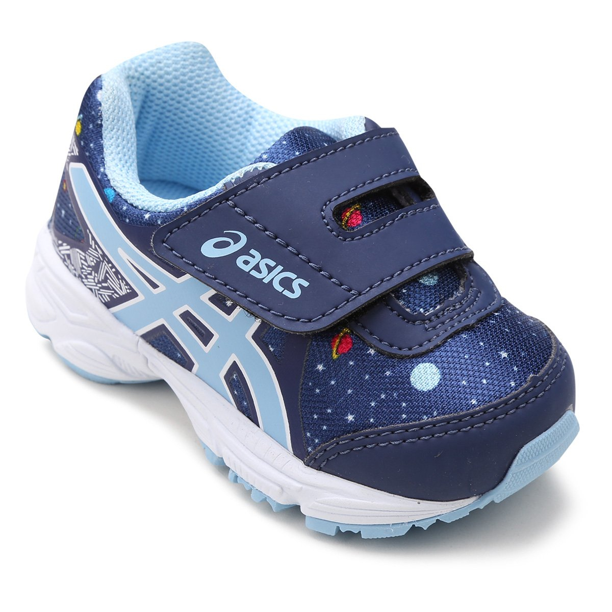 1633f1cb7f Tênis Infantil Asics Sugar Baby 3 TS Running - Azul Escuro - Compre Agora