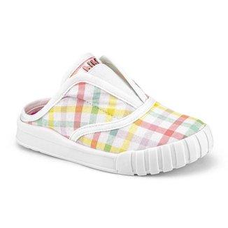 Tênis Infantil Bibi Comfy Feminino Branco Rainbow 1157082
