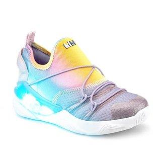 Tênis Infantil Bibi Light Flow Feminino Rainbow - 1160015