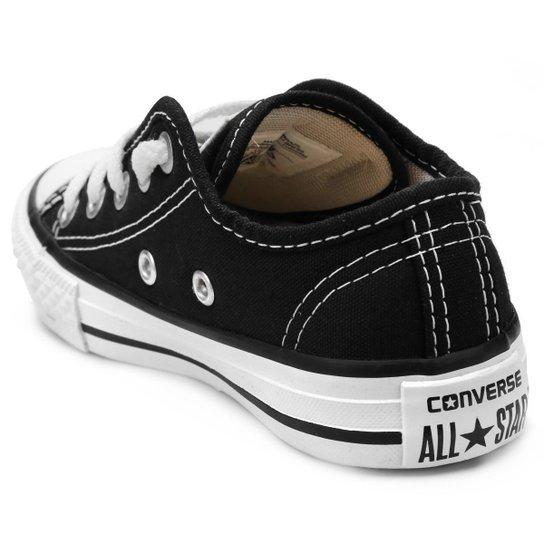 Tênis Infantil Converse All Star Chuck Taylor Border - Preto