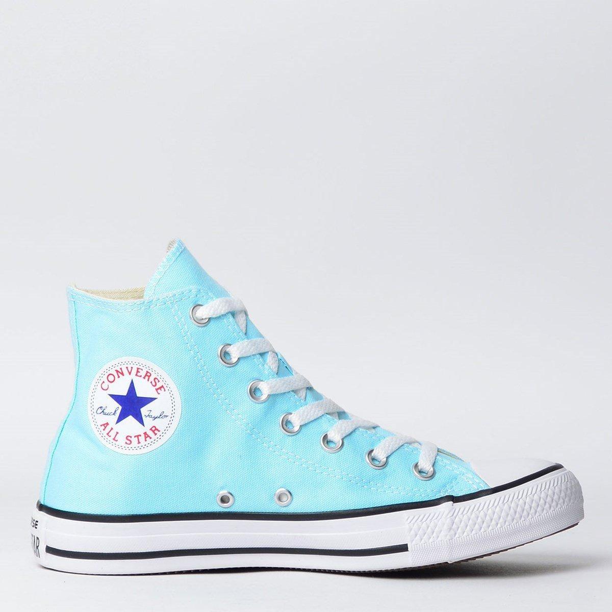 8c332aaf71 Tênis Infantil Converse Chuck Taylor All Star Seasonal Hi Unissex | Netshoes