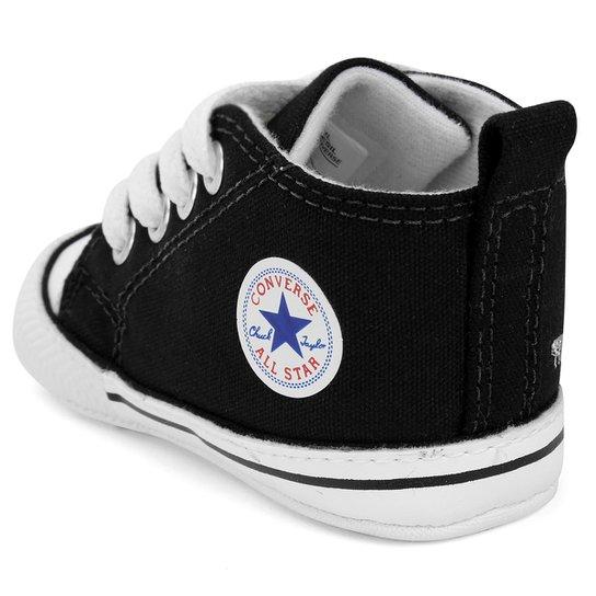 Tênis Infantil Converse Chuck Taylor My First All Star - Preto