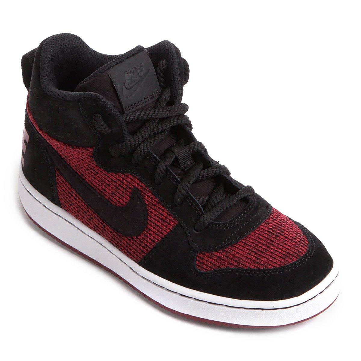 9b6563b3d94a7 Tênis Infantil Couro Cano Alto Nike Court Borough Mid Se Masculino |  Netshoes