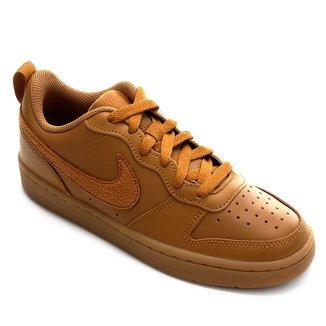 Tênis Infantil Couro Nike Court Borough Low 2
