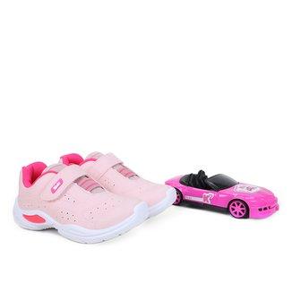 Tênis Infantil Kidy +Carro de Brinquedo Feminino