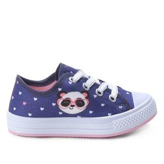 Tênis Infantil Kurz Panda Feminino