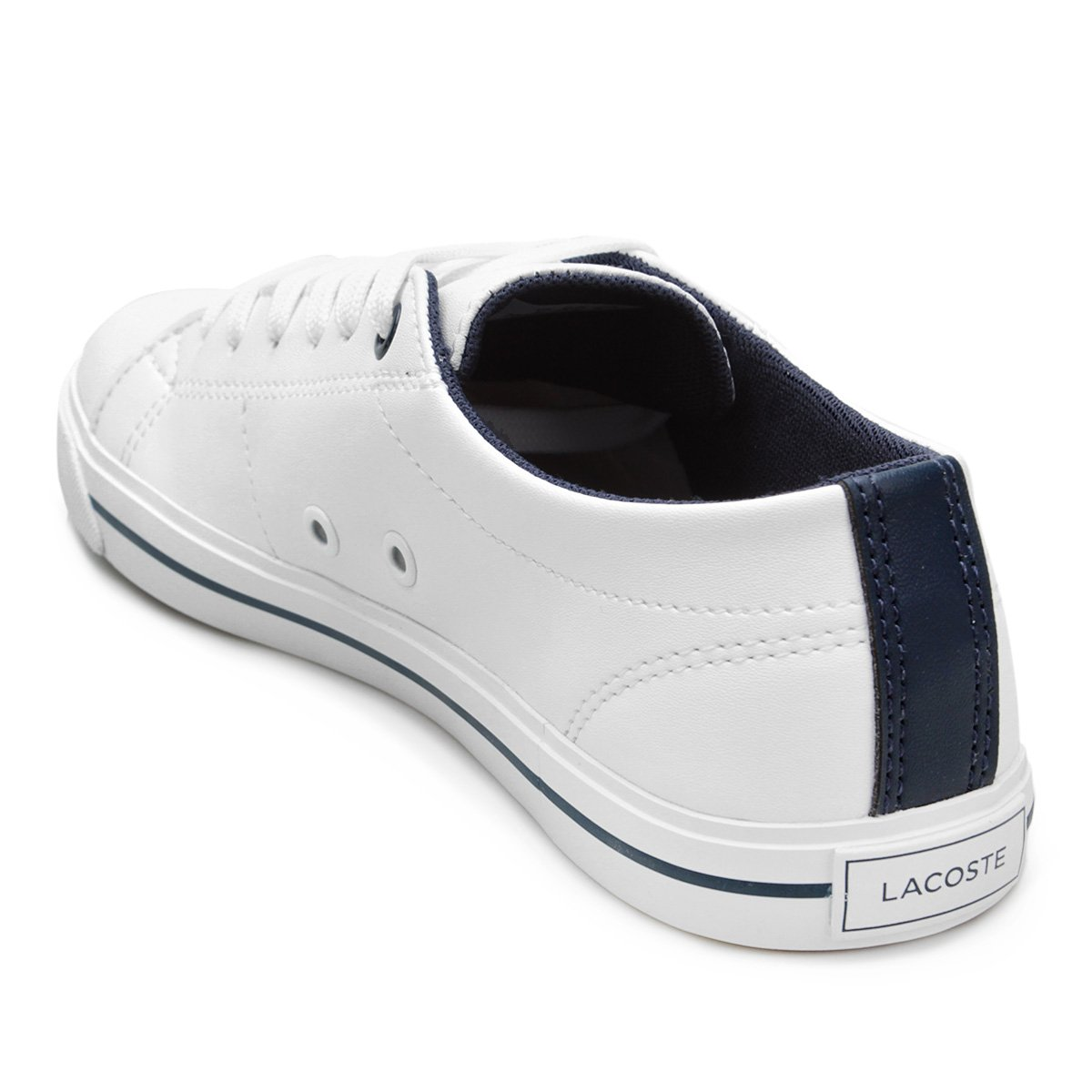 Tênis Infantil Lacoste Riberac 417 Masculino - Branco - Compre Agora ... e708b1abf5