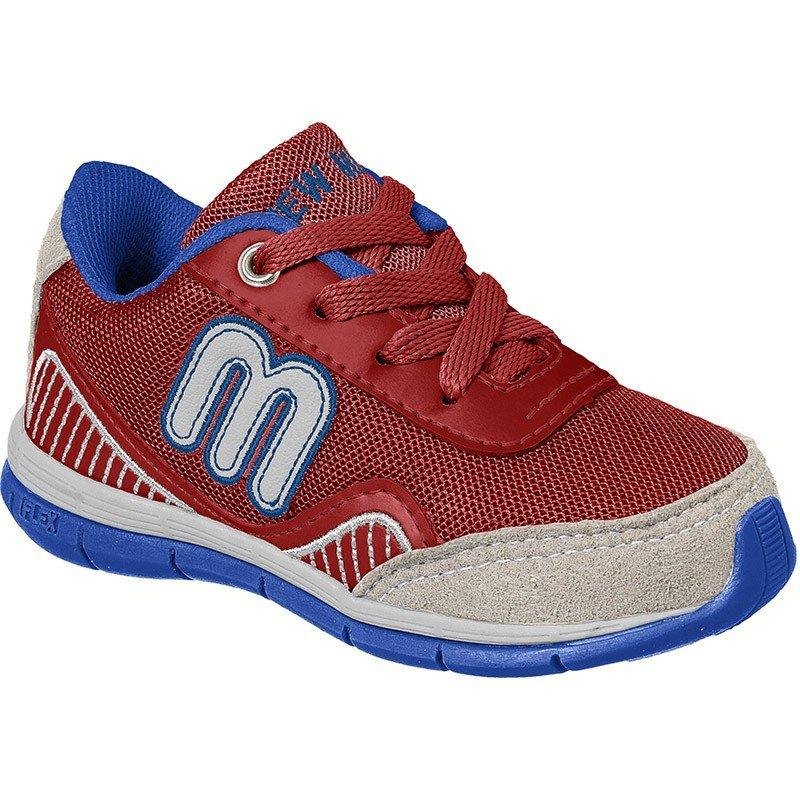 e7abe00e2ebf0c Tênis Infantil Masculino New Mimo Mimopé - Vermelho e Azul