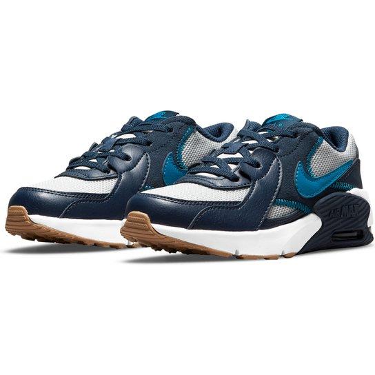 Tênis Infantil Nike Air Max Excee - Cinza+Azul