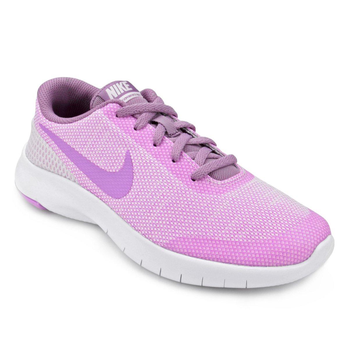 Tênis Infantil Nike Flex Experience Rn Feminino Lilás E Rosa