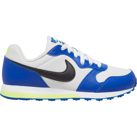 Cerebro Estado Viento fuerte  Tênis Infantil Nike Md Runner 2 GS - Off White e Preto   Netshoes